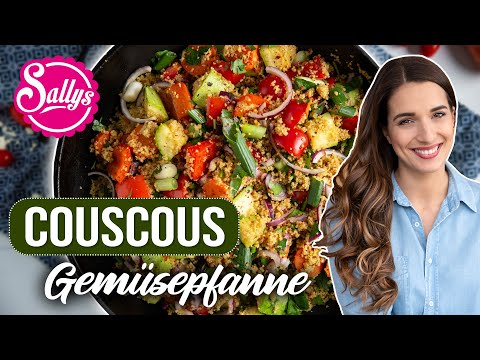 Couscous Gemüse Pfanne / One Pot Gericht in 20 Minuten / Vegan / Ramadan Rezept / Sallys Welt