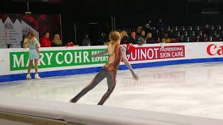 Alexandra Trusova FS runthrough JGPF 2018 20181208