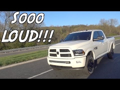 4th GEN 6.7 CUMMINS TURBO SCREAM!!!! FIRST FREE MOD FOR THE 12V CUMMINS PROJECT!!