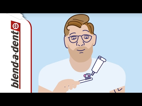 Richtiges säubern Ihrer Zahnprothese | Blend-a-dent