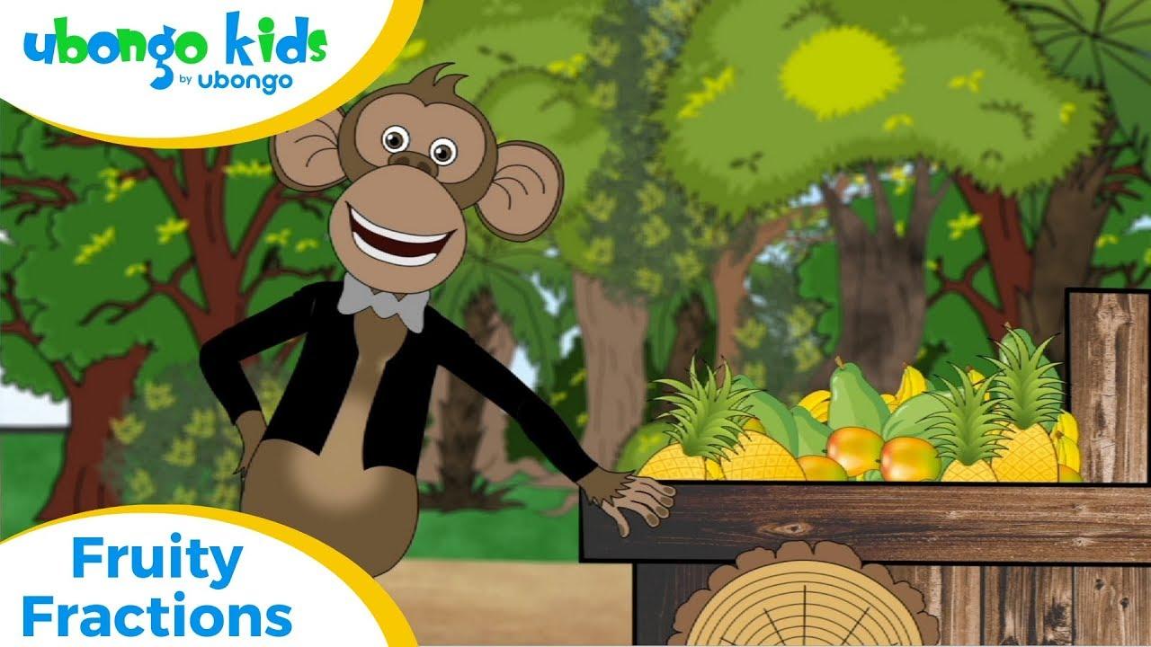 Full Episode #9: Fruity Fractions | Ubongo Kids | Educational Cartoons from Africa