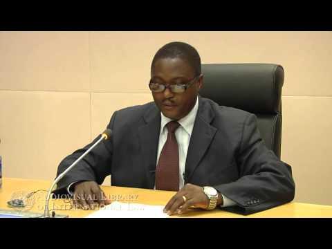 Aderlardus Kilangi on the African Union Commission on International Law (AUCIL)