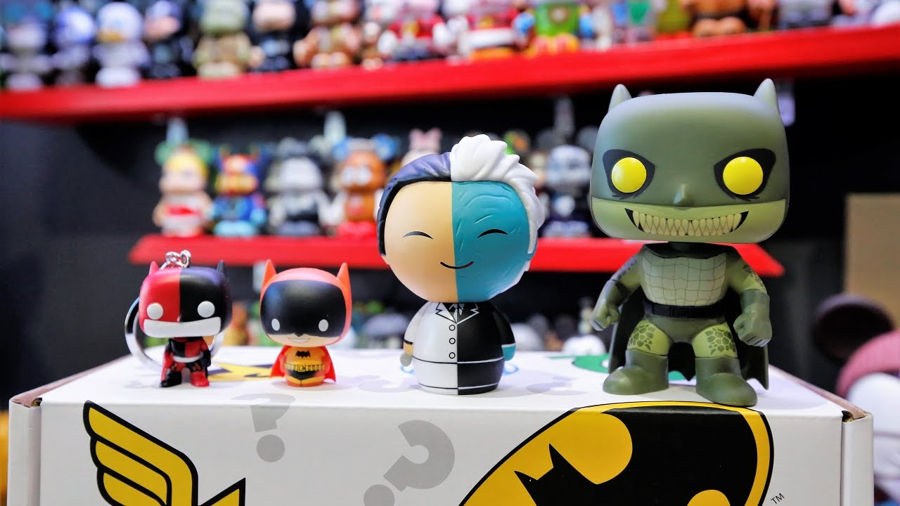 6664c8afa95 Walmart Exclusive DC Comics Funko Mystery Box UNBOXING! - YouTube