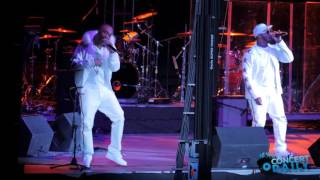 """112 performs """"Peaches and Cream"""" live at Valentine"""