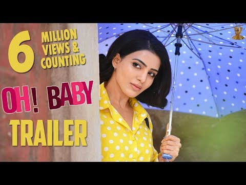 Samantha Akkineni Spells Trouble for Everyone Who is Around Her in Oh Baby Trailer