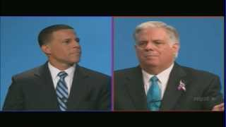 State of Maryland Gubernatorial Debate - Anthony Brown versus Larry Hogan