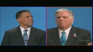 State of Maryland Gubernatorial Debate - Anthony Brown versus Larry Hogan