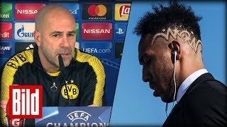 Real Madrid vs Borussia Dortmund - Bosz über Aubameyang