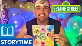 Sesame Street: Just One You! | Story Time with Mitch Tambo