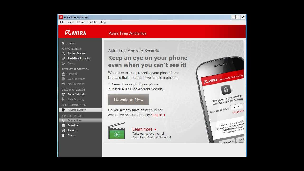 AVIRA 2013 Free Antivirus