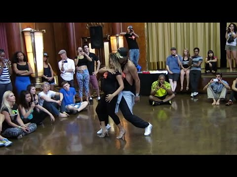 Trey Songz - Can't be Friends - Great Dancing! Aline Cleto & Jefferson Dadinho - LA Zouk Congress