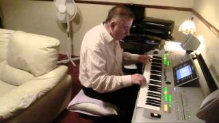 You are my hearts delight  played on Yamaha Tyros 3