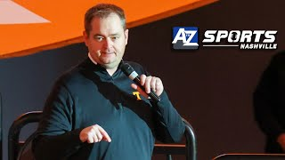 Josh Heupel addresses the 2 biggest concerns about him as Vols head coach...