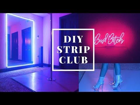 I PUT A STRIP CLUB IN MY BEDROOM!