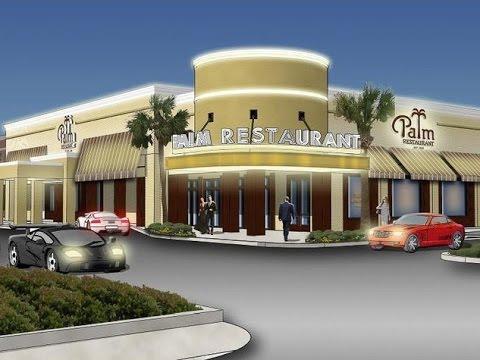 #90 SLS The Houston Palm Restaurant, on location!