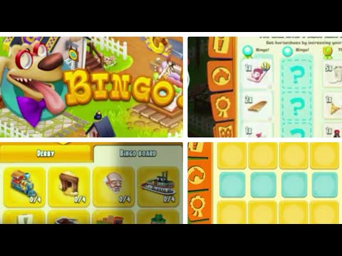 Hay Day - Bingo Derby TUTORIAL / Deutsch - Erklärung BINGO