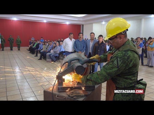 Campaña de Canje de Armas de Fuego 2017 en Zitácuaro