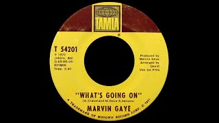 Marvin Gaye ~ What's Going On 1970 Soul Purrfection Version