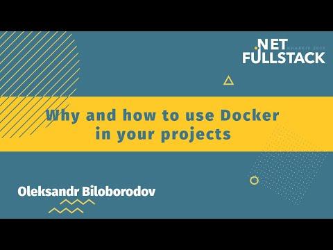 Александр Белобородов (Oracle) -  Как и зачем использовать Docker в своих проектах
