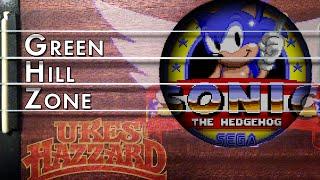 Green Hill Zone (Sonic the Hedgehog) on uke!
