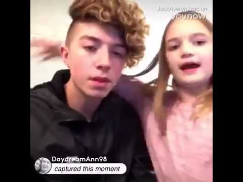 Jack Avery - Funny Live on YouNow (w/sister)