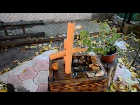 How to Make a Wooden Fountain
