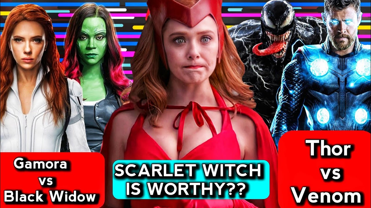 Thor vs Venom,is scarlet witch Worthy Explained in Hindi (Sunday with Superbattle)