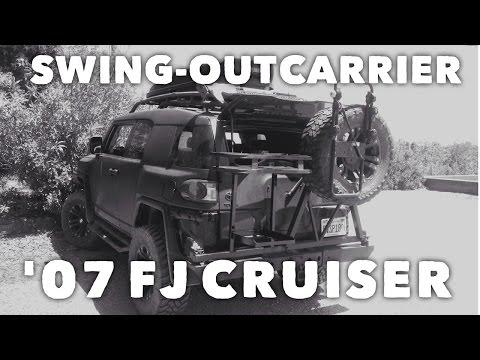 Homemade Swing-out Tire Carrier - FJ Cruiser