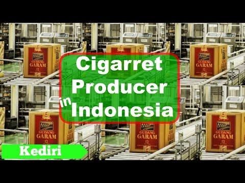 PT Gudang Garam, Tbk, One of the leading Cigarette Producer in Indonesia, Kediri - East Java
