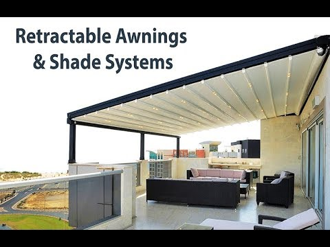 Best Retractable Awnings And Patio Covers Lasp System Youtube