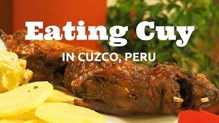Cuy: Eating Guinea Pig in Cusco, Peru