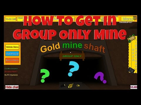 Tix Factory Tycoon: How To Get In Group Only Mine