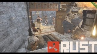 RUST: Early Game Raid | Raid Cam