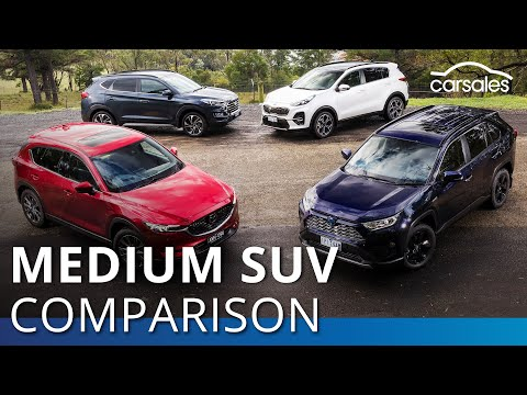 2019 Best Medium SUV Comparison - Toyota RAV4 Hybrid V The Rest