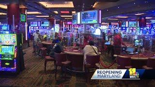 Live! casino, hotel reoṗens at limited capacity