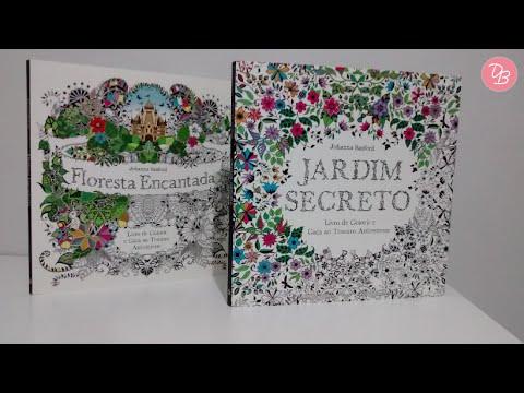 Meus Livros Jardim Secreto E Floresta Encantada