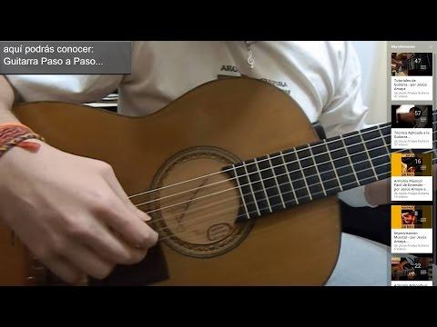 Tocar Trémolo en Guitarra (tutorial) - Jesús Amaya...