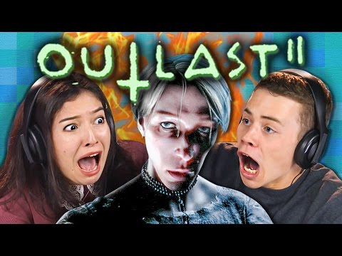 OUTLAST 2 | RUN OR DIE!!! Part 1 (REACT: Gaming)