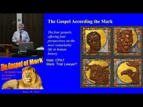 1. Introduction to the Gospel of Mark (Mark 1:1)