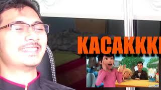 Video Ajar Santai | Reaksi Episod Upin Ipin - 'Terlajak Laris' download MP3, 3GP, MP4, WEBM, AVI, FLV April 2018