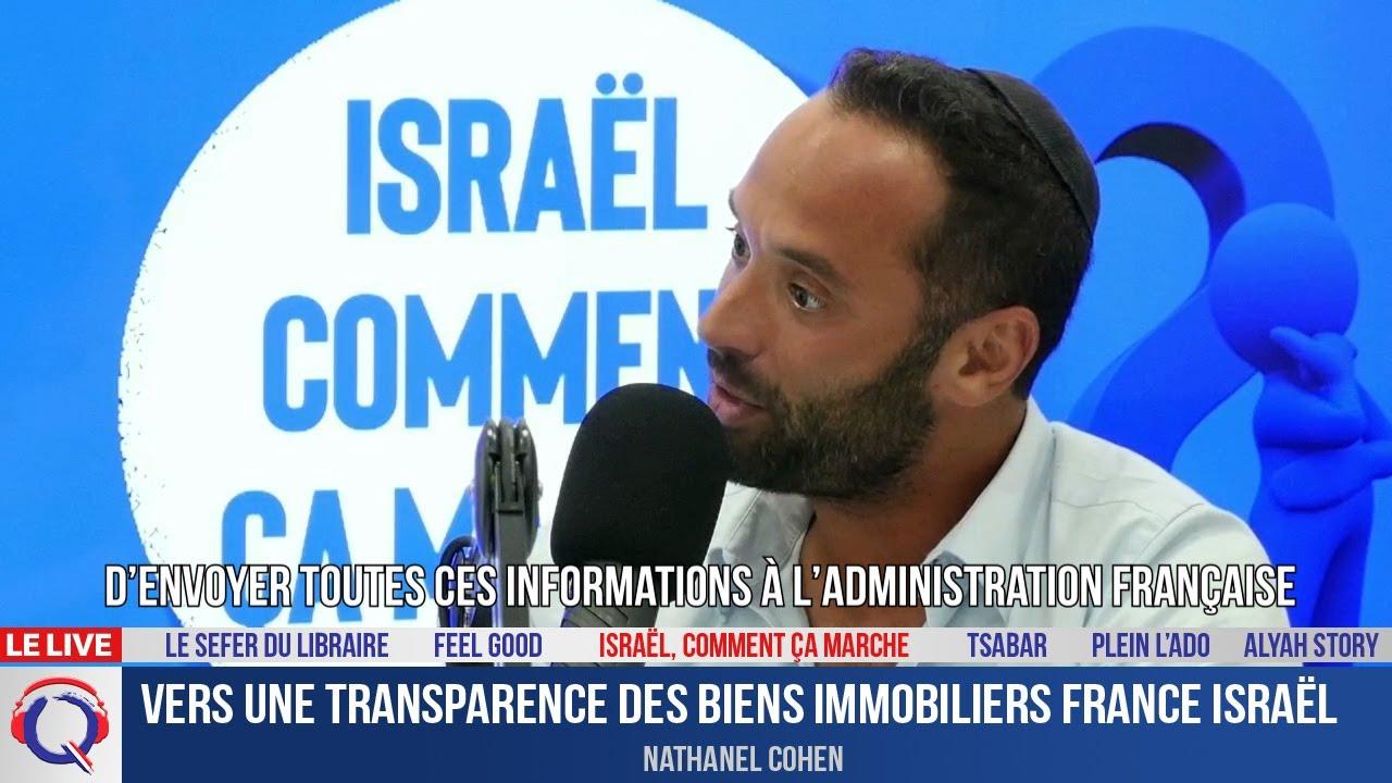 Vers une transparence des biens immobiliers France Israël - ccm#455