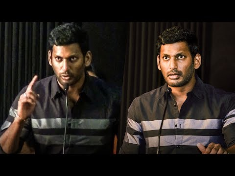 Vishal's Biggest Announcement on PIRACY! | Thupparivaalan | Mysskin, Simran, Andrea | TN 220