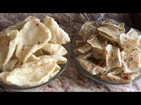 Biyyam vadiyalu recipe rice papad recipe chawal ke papad recipe