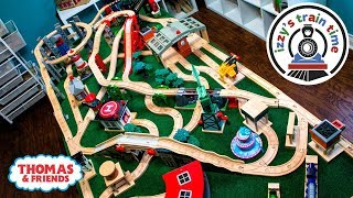 Thomas and Friends | DAD BUILDS A HUGE TRACK! Thomas Train with Brio and Imaginarium