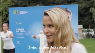 Urška Ahac teče s srcem - Volkswagen Ljubljanski maraton