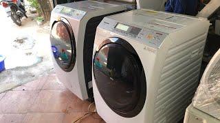 Cặp đôi hàng khủng... Máy giặt nội địa Nhật Panasonic: NA-VX8500 date 2015 và NA-VX8700 date 2017...