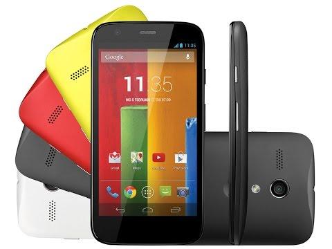 Moto G - Como configurar internet 3G - Android 5.1