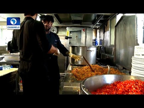 Nigerian Chef Cooks Treats Participants To Jollof Rice In Refugee Food Festival |Network Africa|