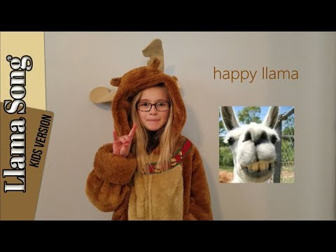 Llama Song Kids Version with Lyrics