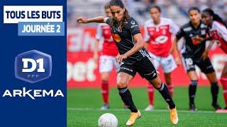 D1 Arkema, Journée 2 - Tous les buts I FFF 2020-2021